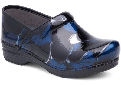 Pro XP Blue Hibsicus Patent Leather
