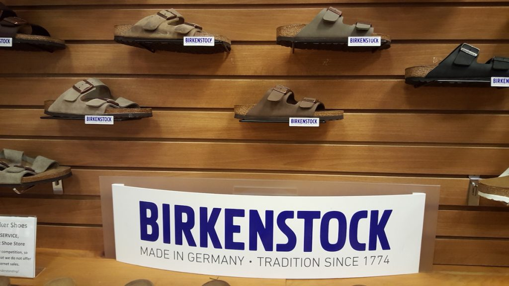 The perfect holiday gift- Birkenstock Arizonas
