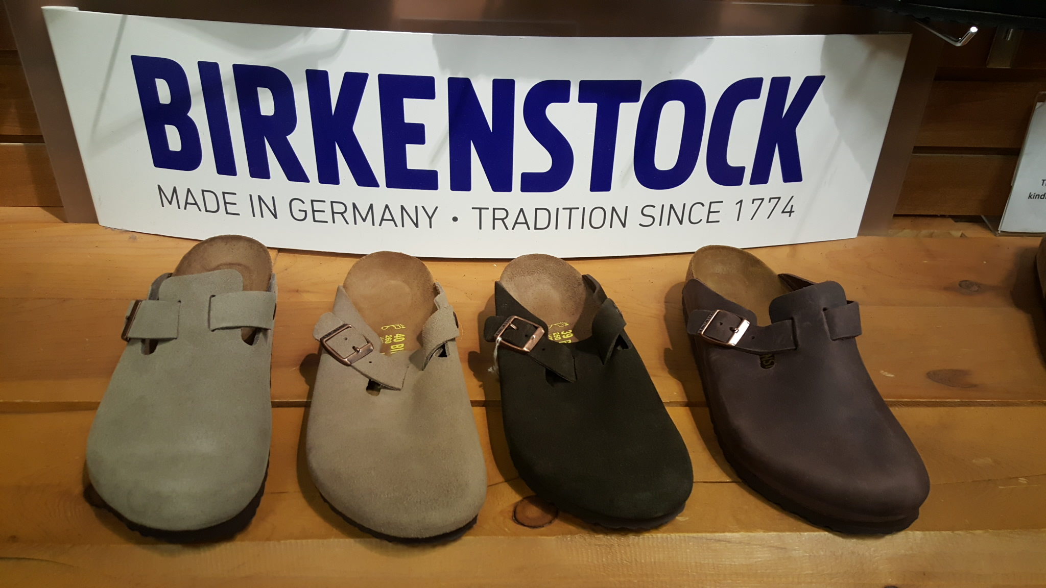a73f746dcf6cd5 Birkenstock Boston slip on clogoston Habana oiled leather for ...