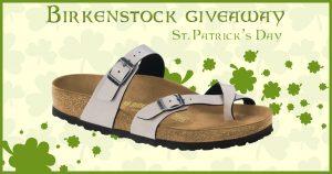 St. Patrick's Day Birkenstock Giveaway – Mayari in Stone
