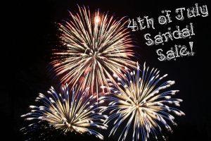 David Parker Shoes sandal sale image of fireworks