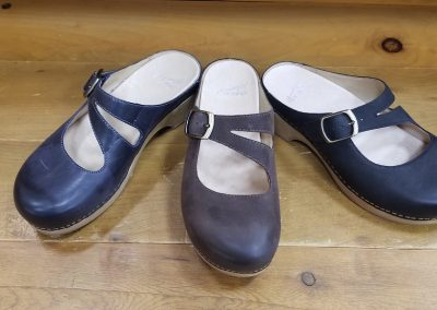Britney in navy, chocolate and black for $130
