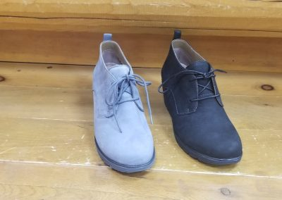 Cadee in Grey and black nubuck for $170